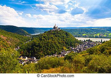 Marksburg Castle, Germany - Marksburg Castle, Braubach,...