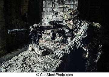marksman, ação
