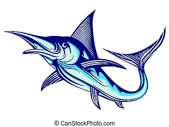 marlin, pez