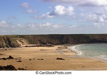 marloes, praia