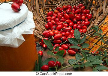 marmalade., rosehip