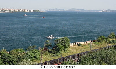 Marmara sea from Istanbul