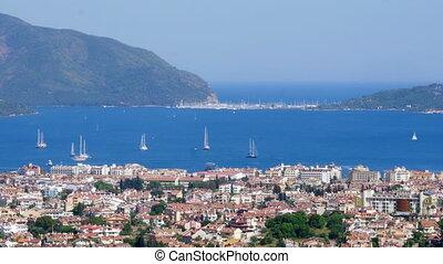 Marmaris, Turkey, Daily life Summer Travel Destination -...