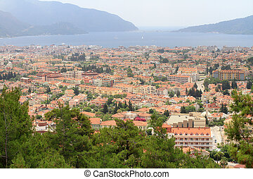 Marmaris, Turkey. Urban density