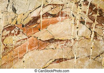 marmor, struktur