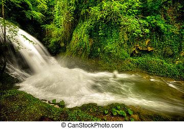 Marmore waterfalls