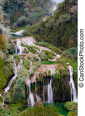 Marmore waterfalls, Italy