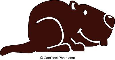 Marmot cartoon