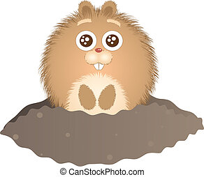 marmota, día