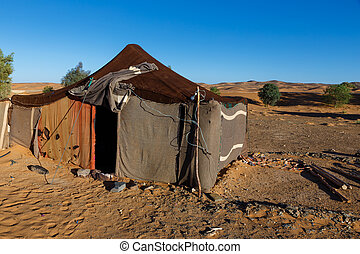 maroc, tente,  sahara,  bedouins