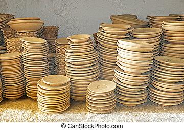 maroccan, płyty, garncarstwo
