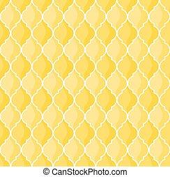 marocchino, sfondo giallo