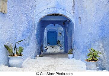 marokko, straße, detail