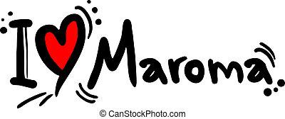 maroma, liefde