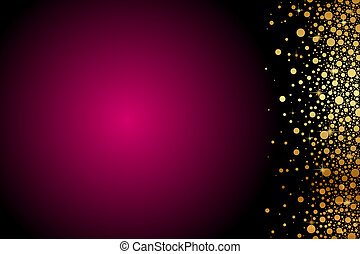 maroon background - Vector maroon background with gold...