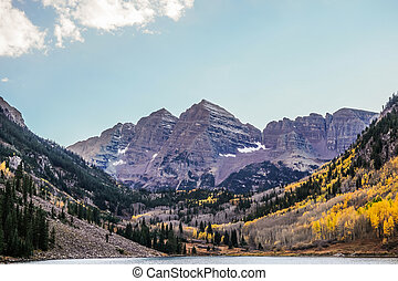 Maroon Bells , Aspen Colorado