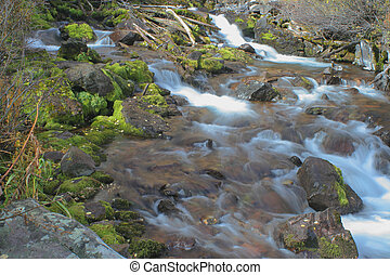 Maroon Creek - creek below Maroon Bells leading to Maroon ...