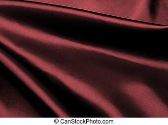 Maroon silk background. - Luxury maroon silk background.