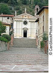Marostica church near Vicenz