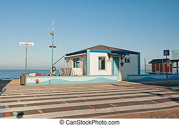 marotta, byggnad, sjösida