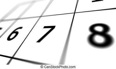 """marqué, """"calendar, 31st."""", date, page, rouges"""