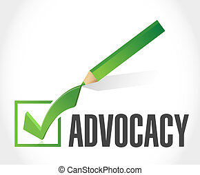 marque, concept, chèque, advocacy, signe
