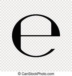 marque, estimé, symbole, e