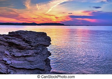 Marquette Michigan Sunset - Sunset along the shores of...