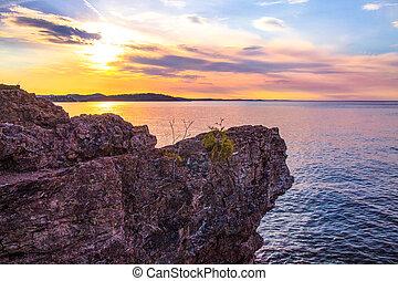 Marquette Michigan Sunset