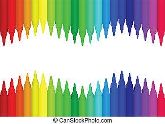 marqueur, couleur
