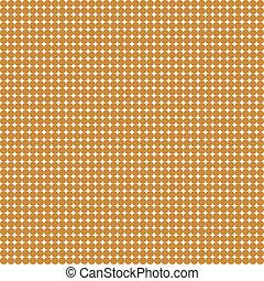 marrón, blanco,  seamless, patrón