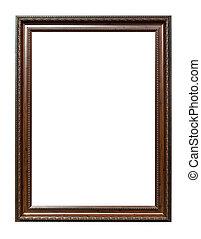 marrón, foto, imagen, aislado, madera, plano de fondo, ...