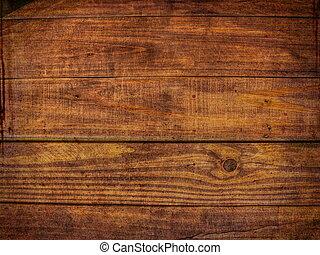 marrón, grunge, afligido, patrón, -, madera, plano de fondo...