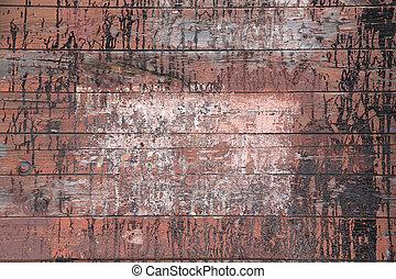 marrón, madera, tablón, pared, texture.