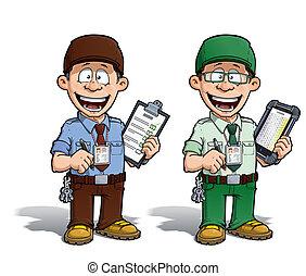 marrón, mensajero, y, --, -, zoo, director, verde, prisión, ...