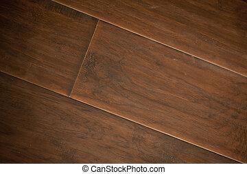 marrón, nuevamente, installed, embaldosado, laminate