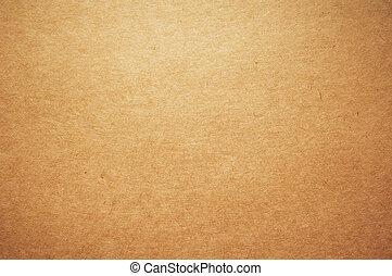 marrón, papel de kraft, plano de fondo