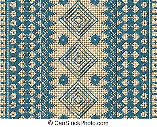 marrón, textura, étnico