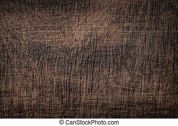 marrón, viejo, de madera, árbol, roble, textura, oscuridad,...
