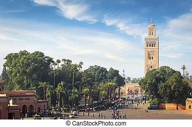 marrakech, meczet