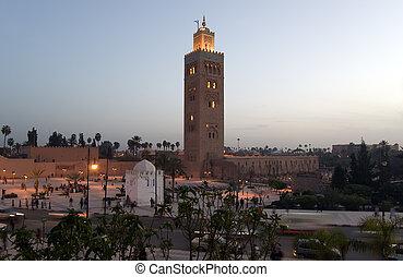 Marrakesh Koutoubia Minaret - The marvellous Koutoubia...