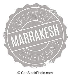 Marrakesh stamp rubber grunge