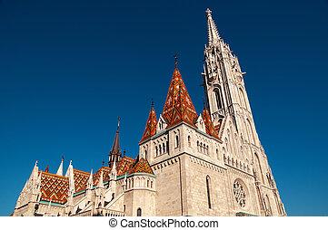 Marrhias Church, Budapest