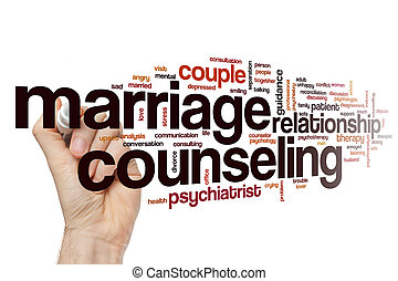 Marriage counseling word cloud