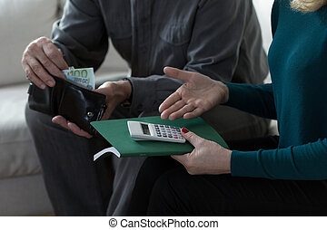 Marriage having financial troubles