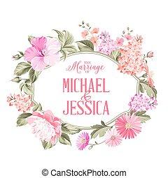 Marriage invitation. - Marriage invitation card with custom...