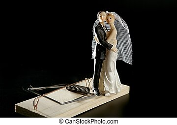 marriage seen as a mouse trap - Marriage seen as a mouse...