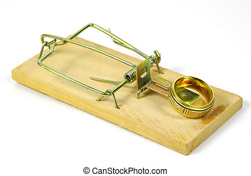 Marriage Trap - Mousetrap With Ring