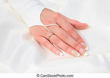 marriageable, mão