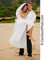 Married On Beach